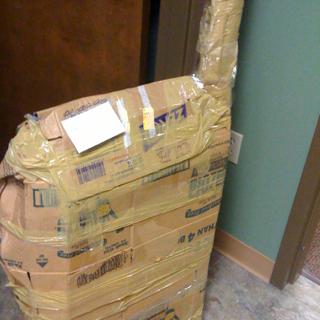 Goodbye Donnie's Box...