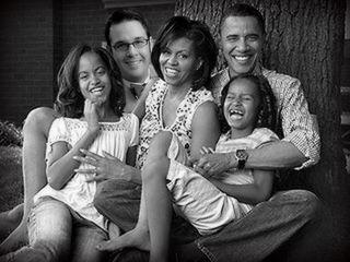 Joel and Obamas